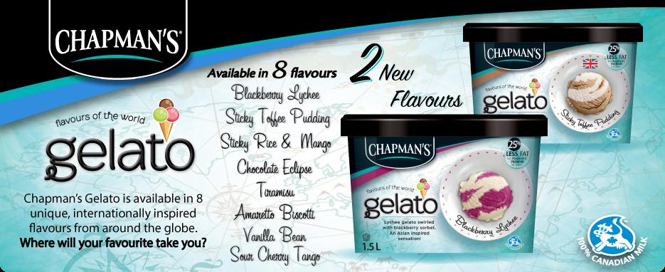 Gelato: 2 New Flavours