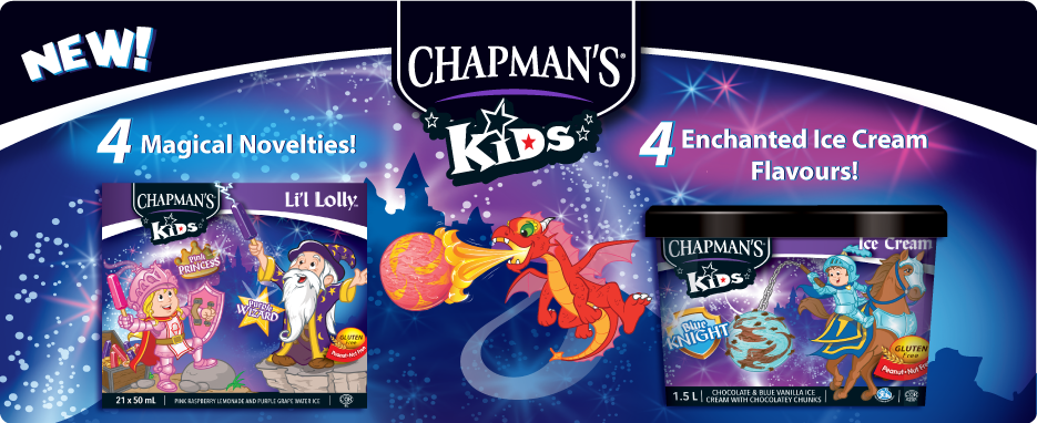 Chapman's Kids Line - Coming Soon!
