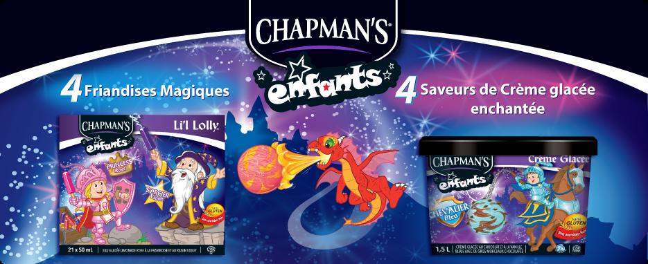 La gamme Enfant de Chapman's