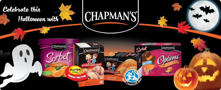 Celebrate Halloween with Chapman's!