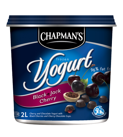 Black Jack Cherry Frozen Yogurt